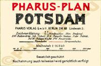 Pharus-Plan Potsdam 1912 Legende