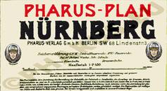 Pharus-Plan Nürnberg 1913 Legende