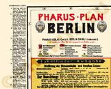 Pharus-Plan Berlin 1922 Legende