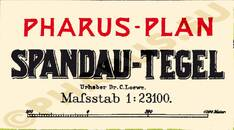 Pharus-Plan Berlin 1905