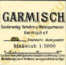 Pharus-Plan Garmisch 1912 Legende