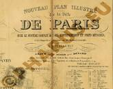 Pharus-Plan Paris 1863 Legende I