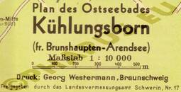Pharus-Plan Kühlungsborn 1939 Legende