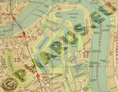 Pharus-Plan London 1910 Ausschnitt Docklands