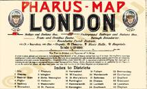Pharus-Plan London 1910 Legende