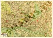 Pharus-Plan Hamburg 1927 Gesamtplan