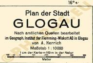Pharus-Plan Glogau 1930, Głogów 1930 Legende