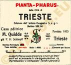 Pharus-Plan Triest 1920, Trieste 1920 Legende