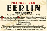 Pharus-Plan Berlin 1939 Legende