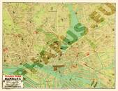 Pharus-Plan Hamburg 1906 Gesamtplan
