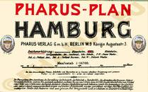 Pharus-Plan Hamburg 1906 Legende