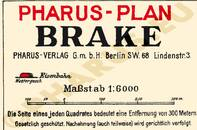 Pharus-Plan Brake 1925 Legende