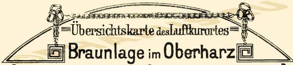 Pharus-Plan Braunlage 1920 Legende