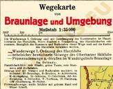 Pharus-Plan Braunlage 1938 Legende