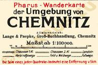 Pharus-Plan Chemnitz 1921 Legende