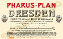 Pharus-Plan Dresden 1909 Legende