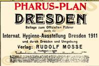 Pharus-Plan Dresden 1911 Legende