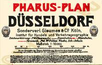 Pharus-Plan Düsseldorf 1921 Legende