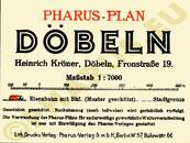 Pharus-Plan Döbeln 1930 Legende