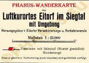 Pharus-Plan Eitorf 1930 Legende