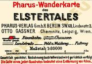 Pharus-Plan Elstertal 1925 Legende
