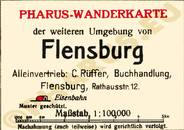 Pharus-Plan Flensburg 1925 Legende