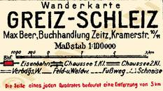 Pharus-Plan Greiz-Schleiz 1925 Legende