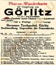Pharus-Plan Görlitz 1920 Legende