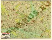 Pharus-Plan Hamburg 1921 Gesamtplan