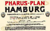Pharus-Plan Hamburg 1921 Legende