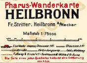 Pharus-Plan Heilbronn 1920 Legende