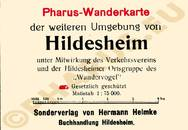 Pharus-Plan Hildesheim 1914 Legende