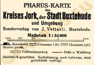 Pharus-Plan Jork 1925 Legende
