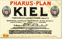 Pharus-Plan Kiel 1912 Legende