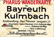 Pharus-Plan Bayreuth/Kulmbach 1925 Legende