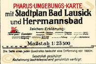 Pharus-Plan Lausick, Bad 1925 Legende
