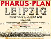 Pharus-Plan Leipzig 1919 Legende