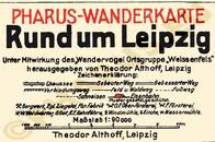 Pharus-Plan Leipzig 1923 Legende