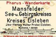Pharus-Plan Mansfeld 1918 Legende