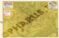 Pharus-Plan Marburg 1924 Gesamtplan