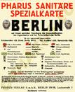 Pharus-Plan Berlin 1924 Legende