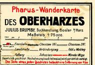 Pharus-Plan Oberharz 1923 Legende
