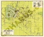 Pharus-Plan Pyrmont, Bad 1930 Gesamtplan