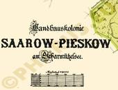 Pharus-Plan Saarow-Pieskow 1925 Legende 1