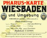 Pharus-Plan Wiesbaden 1910 Legende