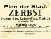 Pharus-Plan Zerbst 1932 Legende