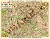 Pharus-Plan Paris 1912 Gesamtplan