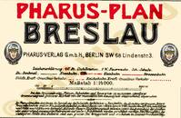 Pharus-Plan Breslau 1922 Legende