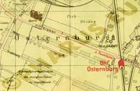Pharus-Plan Oldenburg 1930 Ausschnitt Osternburg