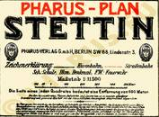 Pharus-Plan Stettin 1920 Legende
